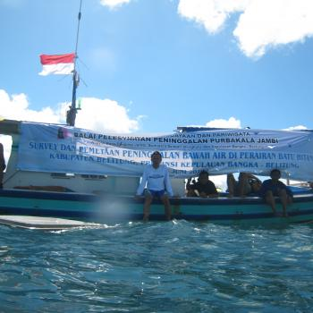 Indonesian expedition to monitor the Belitung wreck site