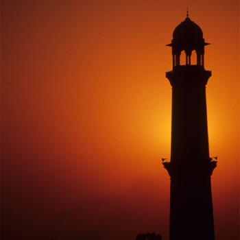 Minaret of Badshahi mosque