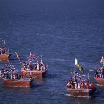 Local sailors of Karachi