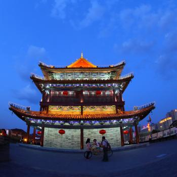 City gate tower of Xi'an