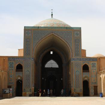 Mosque in the City Centre, Yazd