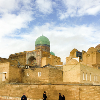 Shahi Zinda necropolis, Samarkand